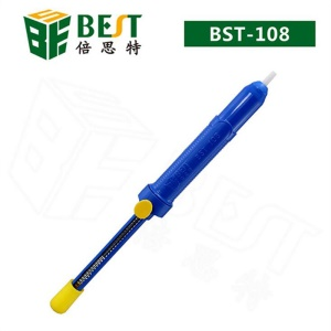 BEST BEST-108 Manual Suction Tin Pen Rod Electronic Flux Tool Solder Sucker