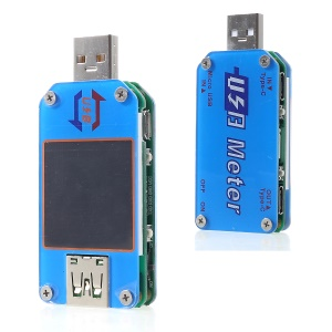 UM25C USB 2.0 Type-C LCD Voltmeter Ammeter Voltage Current Meter
