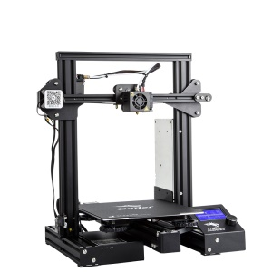 CREALITY Ender 3 Pro 3D DIY Kit Resume Printer with Magnetic Build Surface Plate - EU Plug