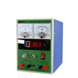 BEST BST-1502T DC Regulated Maintenance Power 15V 2A for Repairing Labs Power Supply - 220V / EU Plug