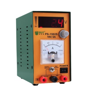 BEST BST-1502S DC Power Supply 0-15V Maintenance Tool for Mobile Phone Repairing Labs - 110V / US Plug