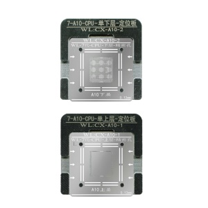 WL A10 CPU Planting Tin Upper+Lower Set for Apple iPhone 7/7 Plus