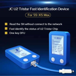 JC U2 Tristar Tester Fast Identification Device Charge IC Fault Fast Tester Detector for iPhone 5s-XS Max