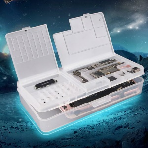 SUNSHINE SS-001A Multi-function Mobile Phone LCD Screen Mainboard IC Parts Repair Storage Box