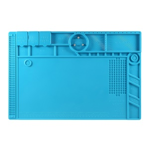 S-190 Silicone Pad Maintenance Platform Mat High Temperature Resistant Microscope Mount Plate