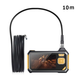 INSKAM113 4.3 inch LCD Color Screen 10M Handheld Endoscope Industrial Home Endoscopes with 6 LEDs - Black/Yellow