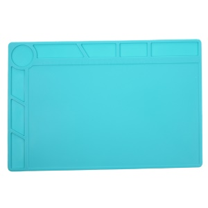Silicone Pad Maintenance Platform Mat with 20cm Scale Ruler High Temperature Resistant