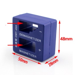 CMT-220 Magnetizer Demagnetizer for Screwdriver Tips and Other Components