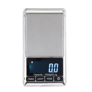 1000g/0.1g Pocket Digital Scale Jewelry Weigh Balance LCD Display