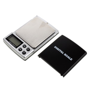 HF-06 2000g/0.1g Digital Pocket Jewelry Weigh Scale High Precision with Back-lit LCD