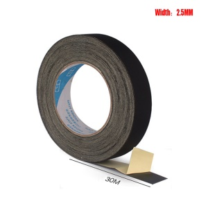 Black Acetate Adhesive Tape Insulation Repair Cloth, Size: 2.5cm x 30m