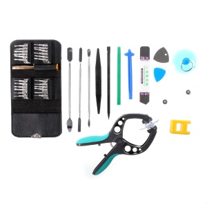 38-In-1 Mobile Phone Screen Opening Tool Kit with Screwdriver Pliers Pry Tools