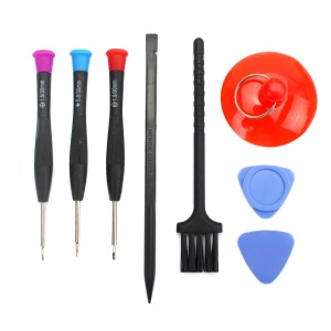 JF-S08 8-in-1 Screwdriver Pry Disassemble Tool Kit for iPhone Samsung