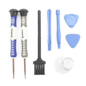 JF-S09 8-in-1 Screwdriver Pry Disassemble Tool Kit for iPhone Samsung