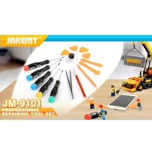 JAKEMY JM-9101 15-in-1 Professional Repairing Tool Set Demolition Kit