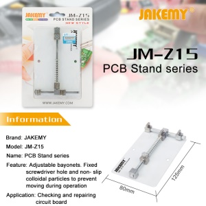 JAKEMY JM-Z15 Mobile Phone Board PCB Holder Stand Repairing Tool