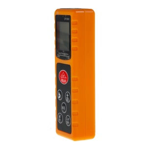 CP-80H 80M Handheld Digital Laser Distance Meter Measure Test Tool for Construction Industries - Yellow