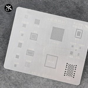 MIJING A8 3D IC Repair BGA Tin Plate Soldering Rework Stencil Steel Net for iPhone 6 / 6 Plus