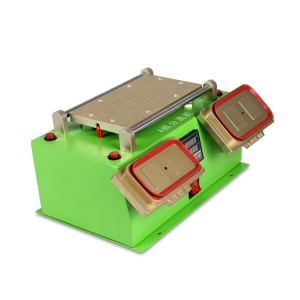 TBK-978 3 in 1 A-frame Separator Machine for LCD Separator + Middle Frame Separator + Preheating Station - Green / UK Plug