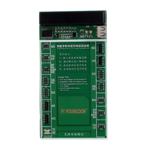 YOUKILOON 901 Fast Battery Charger Circuit Board Activation Tester for iPhone 7/7 Plus/6s/6s Plus etc.