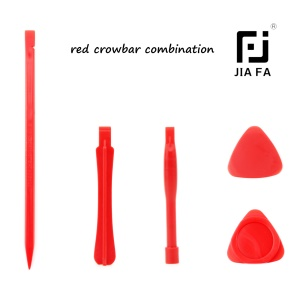 5PCS/Lot Professional Plastic Opening Pry Tool Spudger Kit - Red