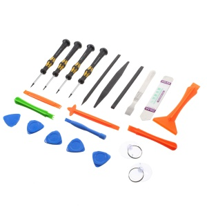 XH-8355 22-in-1 Opening Pry Screwdriver Repair Tool Kit for iPhone Samsung Huawei