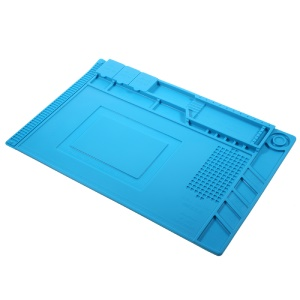 Professional Soldering Station Mat Magnetic Heat Insulation Silicone Pad Maintenance Platform for Phone Repair