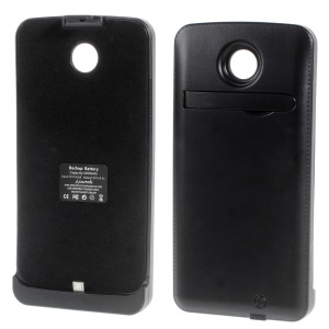 Black 4200mAh Backup Battery Charger Case for Motorola Nexus 6 XT1103 XT1100