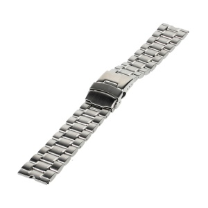 21mm Stainless Steel Watchband for Motorola Moto 360 Smart Watch - Silver