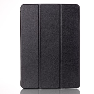 Leather Smart Case for Asus Transformer Pad TF303CL TF303K with Tri-fold Stand - Black