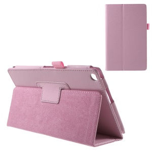 For Asus ZenPad 8.0 Z380C Z380KL Lychee Texture Stand Leather Skin Case - Pink
