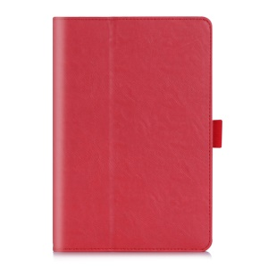 Stand Leather Case Card Holder for ASUS ZenPad S 8.0 Z580C - Red