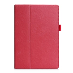 PU Leather Card Holder Case Cover for Asus ZenPad 10 Z300C - Red
