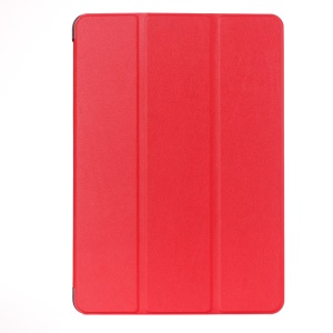 3 Fold Stand Smart Leather Cover for Asus ZenPad 10 Z300C Z300CL Z300CG - Red