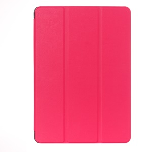 3-fold Smart Leather Case Cover for Asus ZenPad 10 Z300C Z300CL Z300CG - Rose