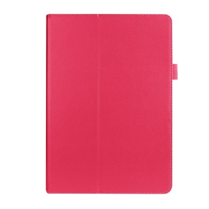 Litchi Skin Leather Stand Case Cover for Asus ZenPad 10 Z300C Z300CL Z300CG - Rose