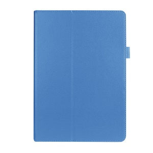 Litchi Skin Leather Case Cover for Asus ZenPad 10 Z300C Z300CL Z300CG - Baby Blue