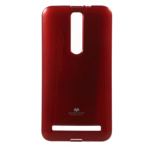 Mercury GOOSPERY TPU Gel Case for Asus Zenfone 2 ZE551ML Glittery Powder - Red