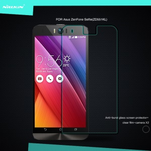 NILLKIN for Asus Zenfone Selfie ZD551KL Amazing H Tempered Glass Screen Film Nanometer Anti-Explosion