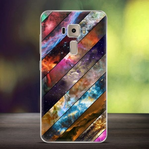 Softlyfit Embossment TPU Mobile Case for Asus Zenfone 3 ZE552KL - Galaxy