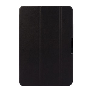 Tri-fold Stand Smart Leather Case for Acer Iconia Tab 10 A3-A20 - Black