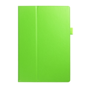 Litchi Skin Leather Stand Cover Case for Acer Iconia Tab 10 A3-A30 - Green