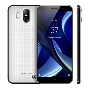 HOMTOM S16 Smartphone 5,5-Zoll-Android 7,0 3G MTK6580 Quad-Core 2 GB + 16 GB - Weiß