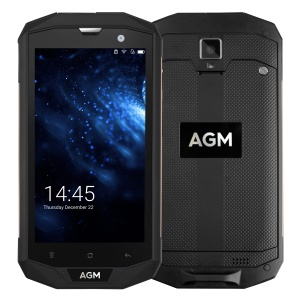 AGM A8 IP68 Impermeabile Shockproof 5.0 Pollici Android 7.0 Quad-core 4G Smartphone 3GB + 32GB