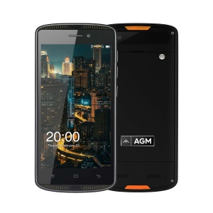 AGM X1 Mini IP68 Waterproof Shockproof 5.0-inch Android 6.0 Quad-core 4G Smartphone 2GB+16GB