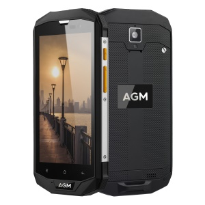 AGM A8 EU Version 5.0-inch 4G Android 7.0 Smartphone IP68 Waterproof Dustproof Shockproof Rugged Phone 3G+32G