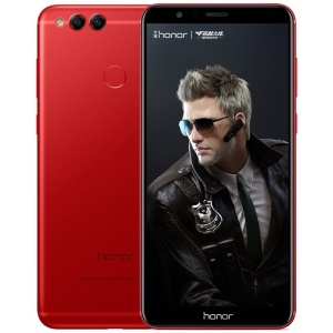HUAWEI Honor 7X (BND-AL10) 5.93-inch Android 7.0 Kirin 659 Octa-core 4G Smartphone 4GB+128GB - Red