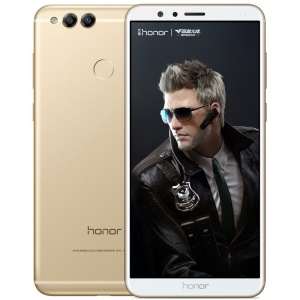 HUAWEI Honor 7X (BND-AL10) 5.93-inch Octa-core Kirin 659 Android 7.0 4G Smartphone 4GB+128GB - Gold Color