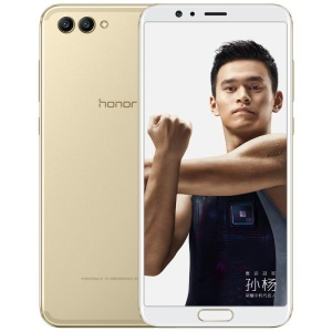 HUAWEI Honor V10 (BKL-AL00) 4GB+64GB EMUI 8.0 5.99-inch Kirin 970 Octa-core 4G Smartphone - Gold Color
