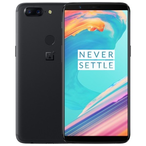 ONEPLUS 5T 6.01-inch 6GB+64GB 4G Smartphone, Android 7.1.1 Octa Core Three Cameras - Black
